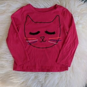 Cat 4T long-sleeved top